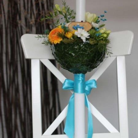 lumanare botez stumf albastru (1)
