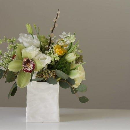 Aranjament floral chic %22gentuta cu flori%22 (3)