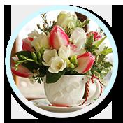 1 Aranjament floral cescuta