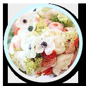 2 Buchet mireasa anemone bujori