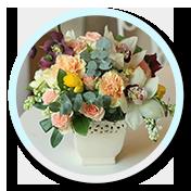 4 Aranjament floral cadou
