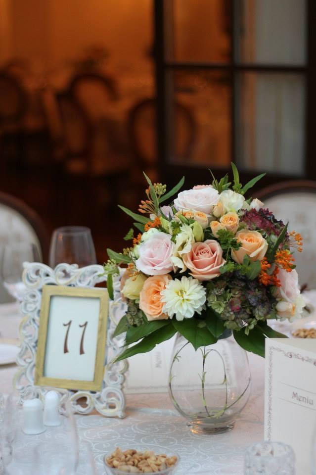 Aranjament Floral Pastel De Toamnă Enrose