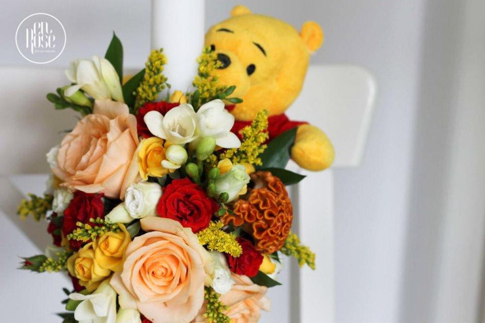 Lumanare De Botez Winnie The Pooh Enrose