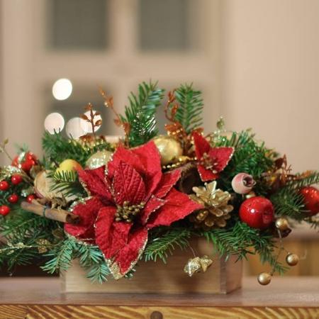 Aranjament de Crăciun în cutie Christmas in a box