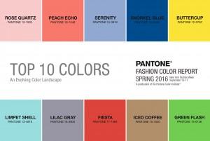 Pantone Colors Spring 2016