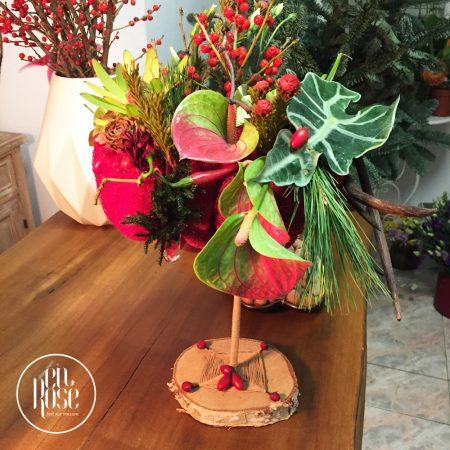 Design floral de sărbători Winter Spices