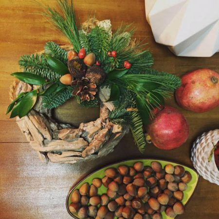 Coroniță de Crăciun deosebită Wood Scents