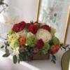 Aranjament floral Cutiuța Delicată