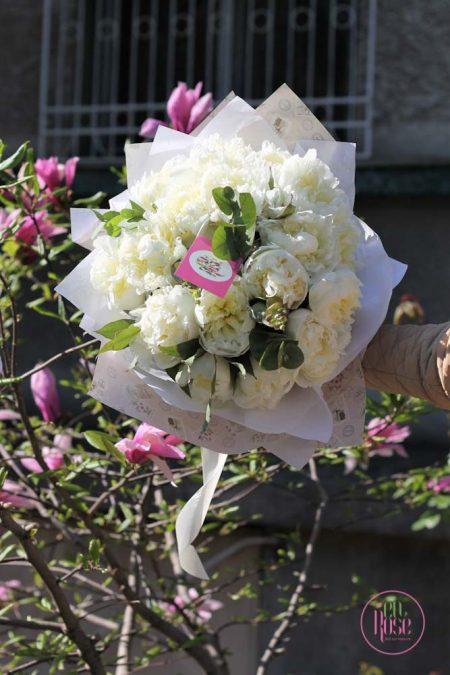 buchet de flori Pure Bliss Peonies