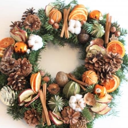 Coroniță de Crăciun Cinnamon and Oranges