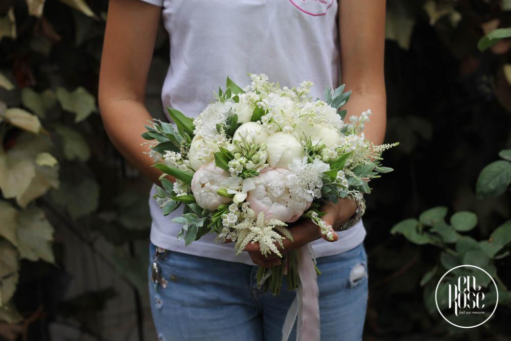 Buchet De Mireasă Flori De Mărgăritar Enrose
