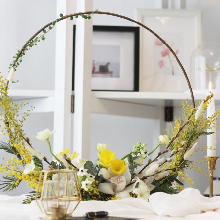 Aranjament floral cu design structural