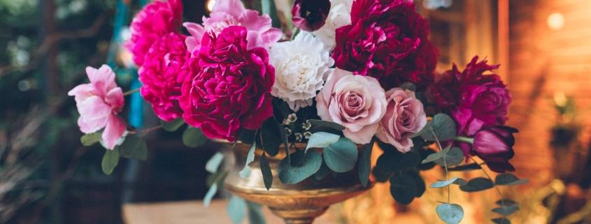 workshop de design floral cu bujori