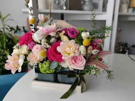 Aranjament floral de primavara Colour Boost