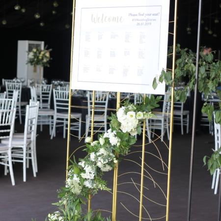 Ansamblu de întâmpinare decor nuntă