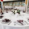 farfurii de nuntă cu margine argintie