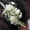 accesoriu de păr cu pieptene pentru mireasă