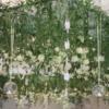tavan cu flori suspendate decor nuntatavan cu flori suspendate decor nunta