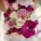Buchet de mireasă cu orhidee fuchsia