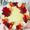 tort cu cremă de brânză Berry Carrot