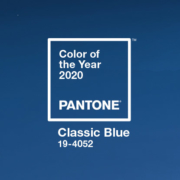 albastru clasic