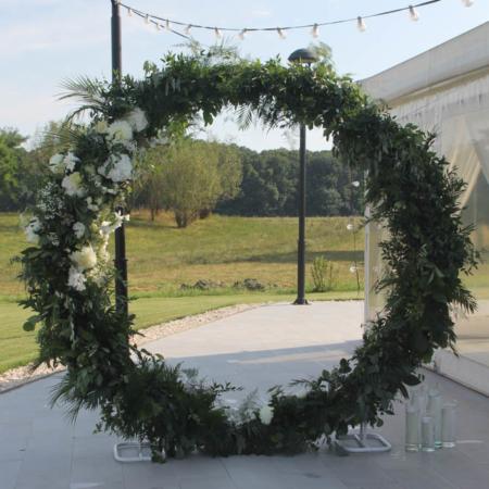 arcadă florală cerc Lunar FLOW