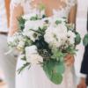 buchet de mireasa cu flori albe