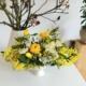 galbenul - Aranjament cu flori galbene