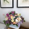Coș cu flori colorate Tinkerbell