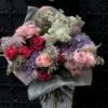 PREMIUM Buchet cu flori prețioase Queen of Spades