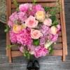 Buchet de lux cu trandafiri parfumați Queen Mary