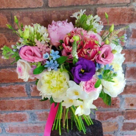 Buchet cu flori colorate My Fair Lady