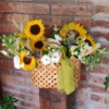 Geantă de vară cu flori Looking for the sun20