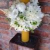 lumânare de botez din ceară naturală Honey Bee