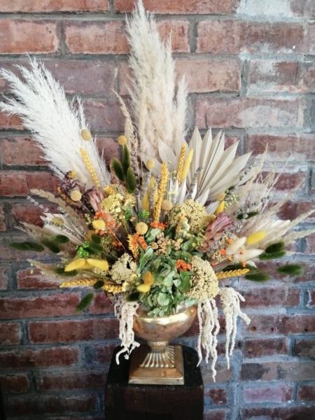 Aranjament elegant cu flori uscate Richesse