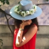 Coroniță florală French Chic