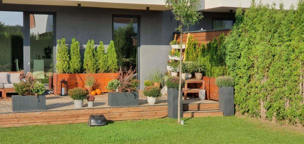 Amenajare terasa si gradina bucuresti