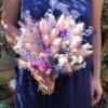Buchet de cununie cu flori uscate Agnes