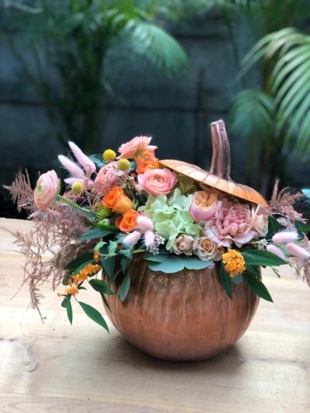 Dovleac cu flori extravagante Madame du Barry