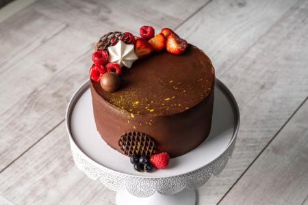 Cherry Choco Cake