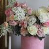 aranjament floral în cutie C'est l'amour