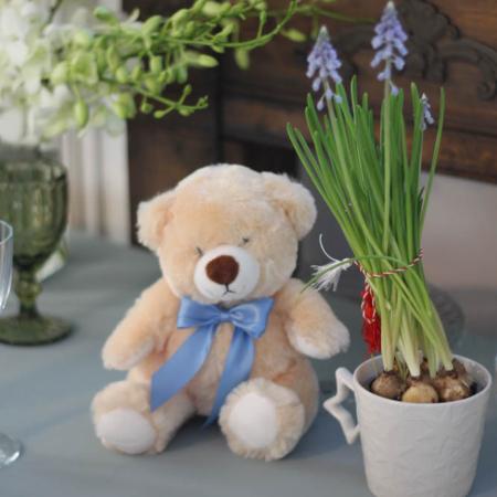 Ursuleț de pluș Blue Teddy