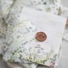 Felicitare florală cu sigiliu Botanique